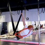 Michelle Prosek Fifth Element Fly Gym Aerial Performance Rehearsal