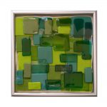 Abstract Tile 7x7""
