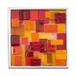 "Abstract Tile 7x7"""