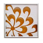 "Chrysanthemum Tile 7x7"""