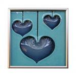 "Hearts Tile 7x7"""