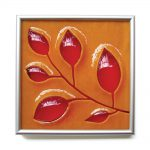 Leaves Tile 7x7""