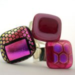 Dichroic Glass Rings