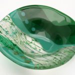 """Sea Green Dish 5x5"""""""