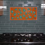 Custom Backsplash - Vines