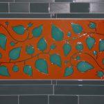 Custom Backsplash - Vines